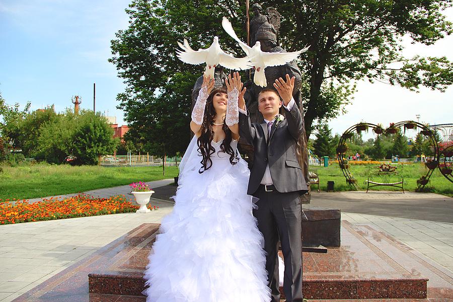 Свадебные фотосессии в Бийске